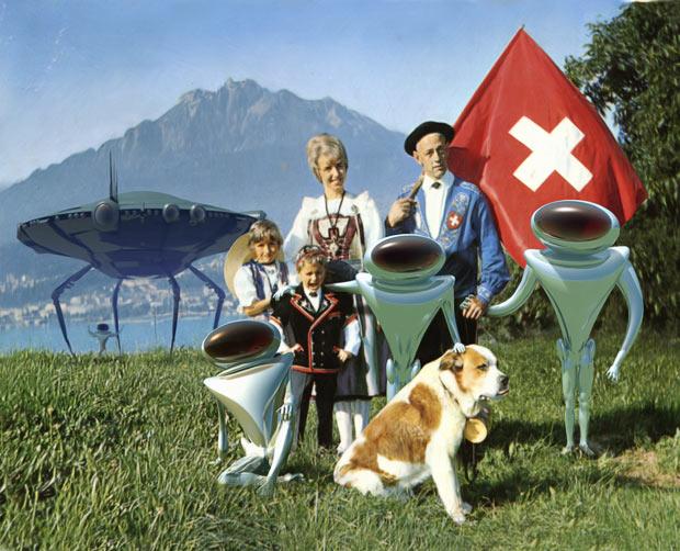 aliens visit lake basel